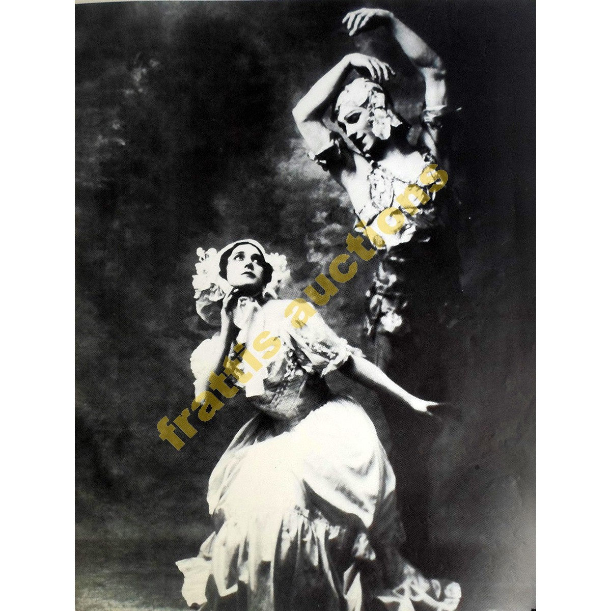 Vaslav Nijinsky, poster.