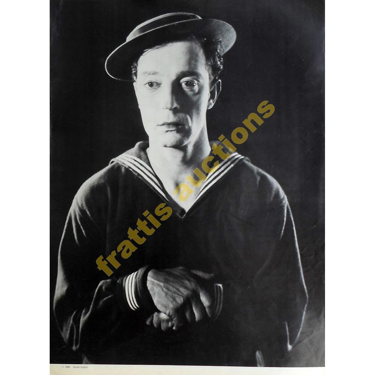 Buster Keaton, poster.