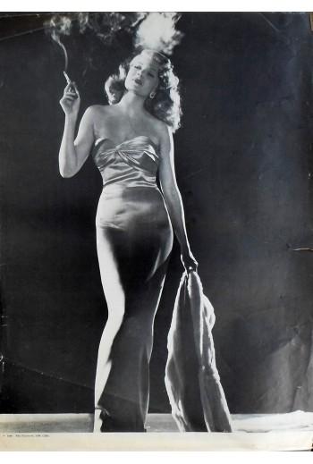 Rita Hayworth, poster.