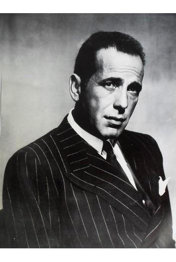 Humphrey Bogart, poster.