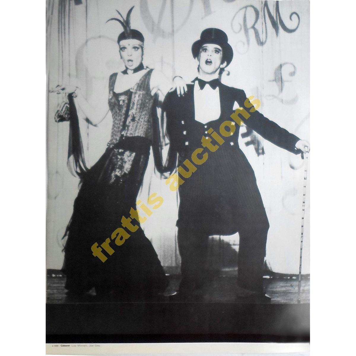 Liza Minnelli, Joel Grey, poster.