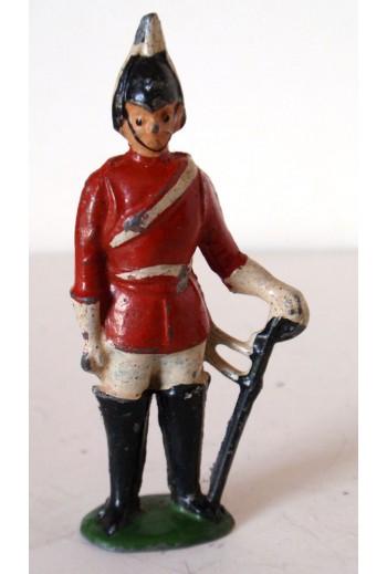 Μολυβένια φιγούρα  στρατιώτη.