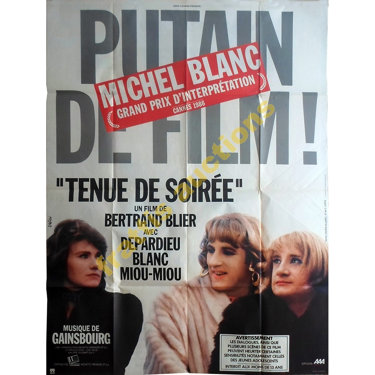 "Putain de film,""Tenue de soiree"" poster."