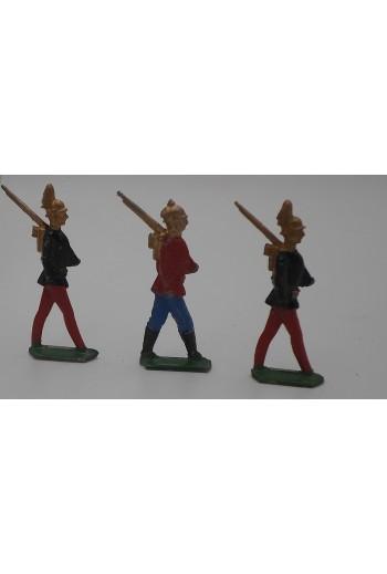 3 Μολυβένιες φιγούρες...