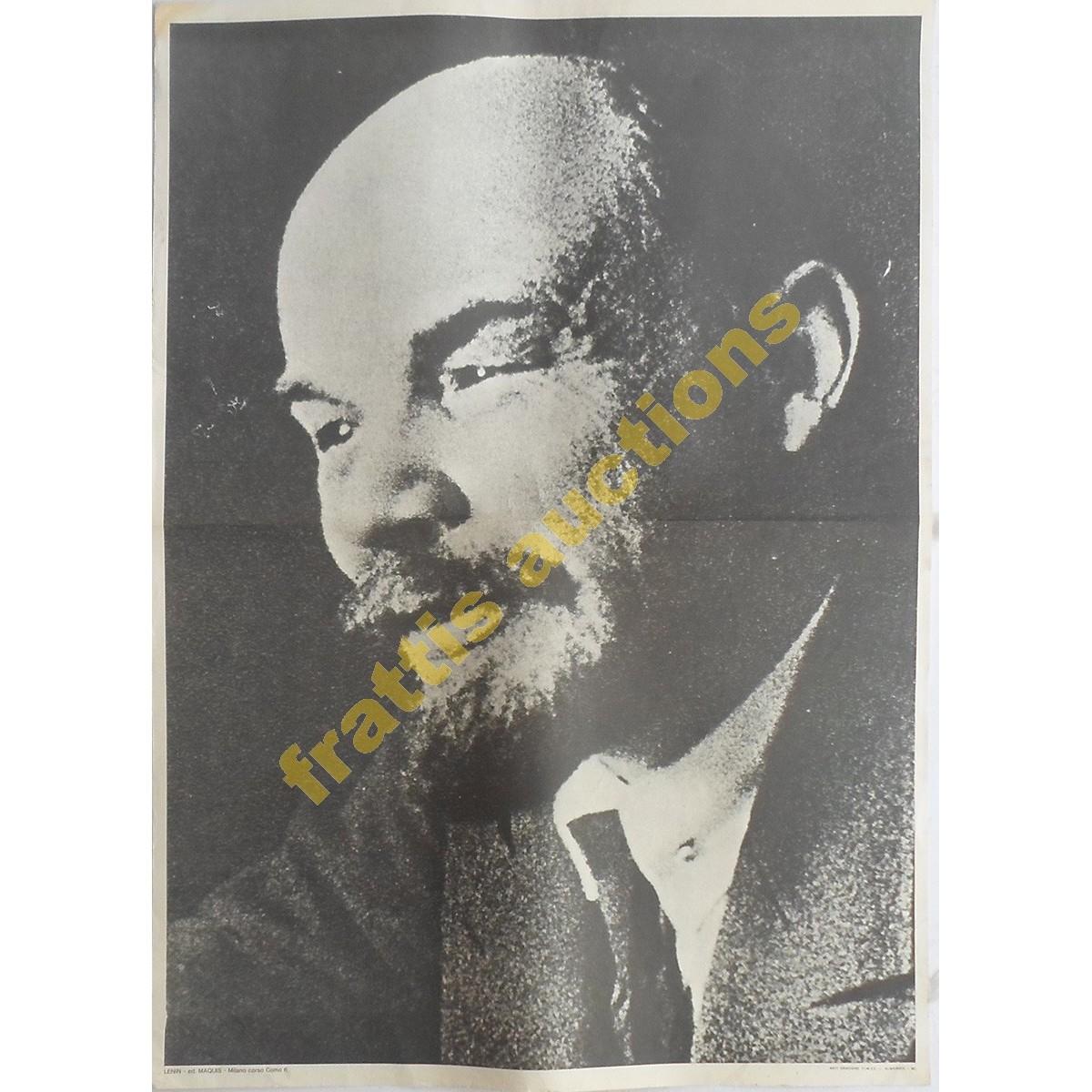 Lenin, χάρτινη αφίσα.
