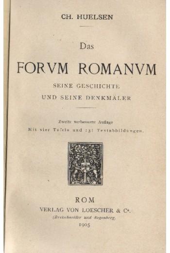 Forum Romanum, Ch.Hulsen
