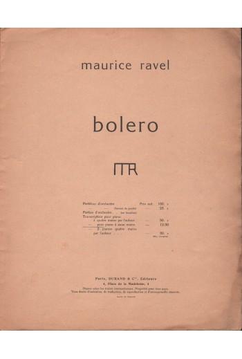 Bolero, Maurice Ravel.