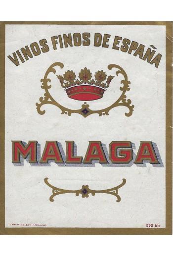 Vinos finos de Espana,Malaga.