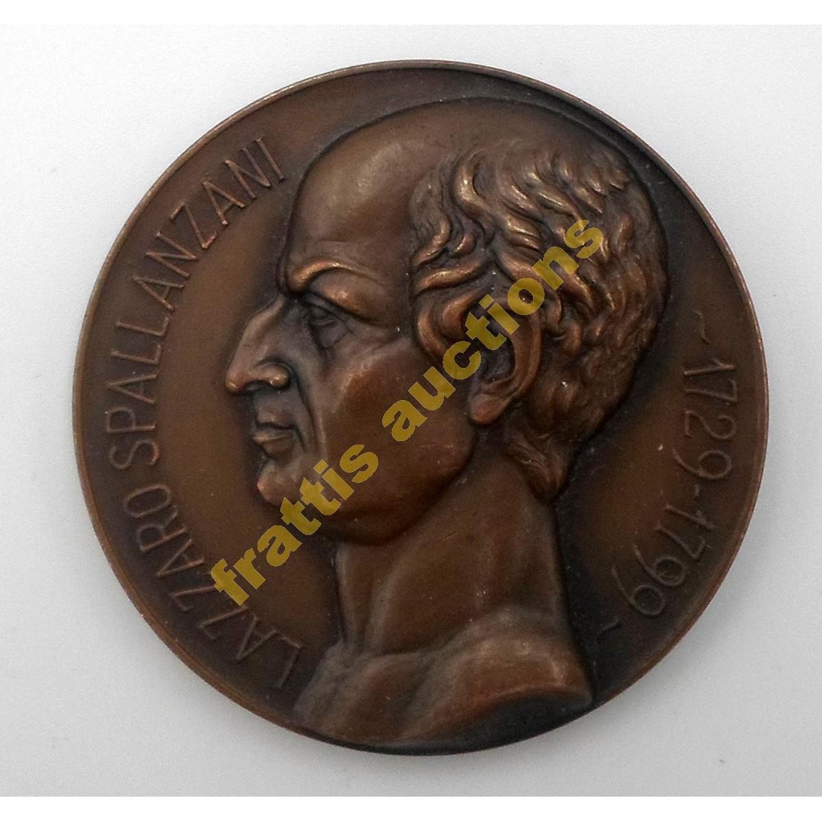 Lazzaro Spallanzani (1729-1799). Μετάλλιο 1932 για το XIV Διεθνές Συνέδριο Φυσιολογίας.