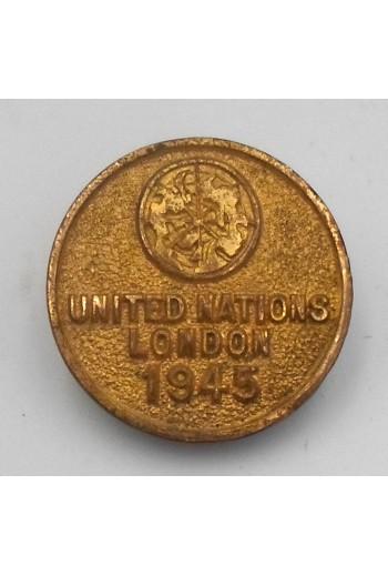 Σήμα πέτου. UNITED NATIONS...