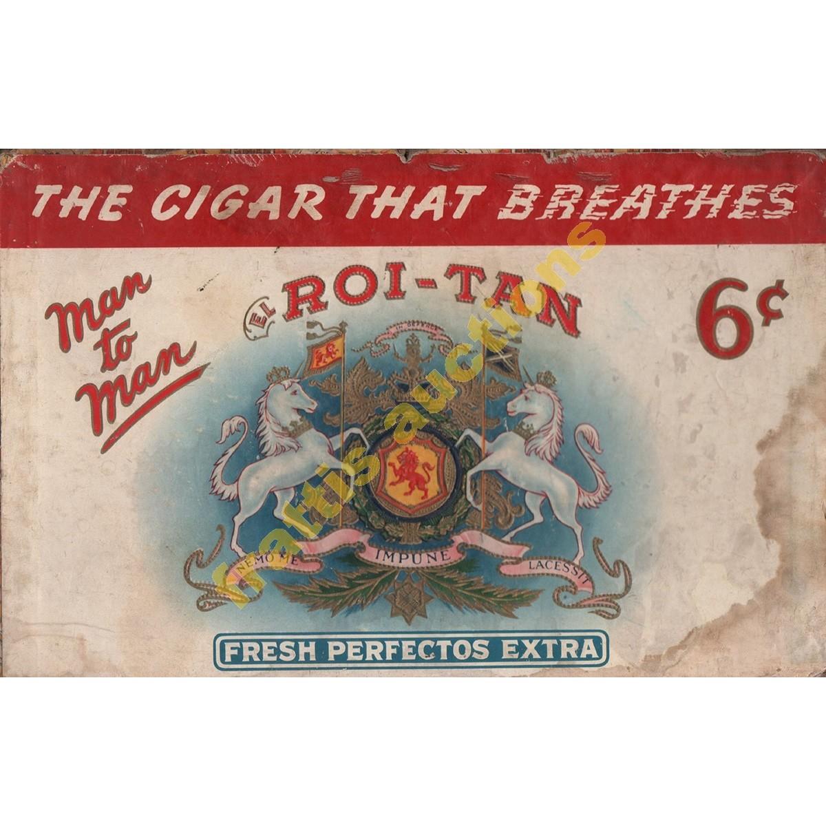 El Roi-Tan  καπάκι από κουτί με πούρα.