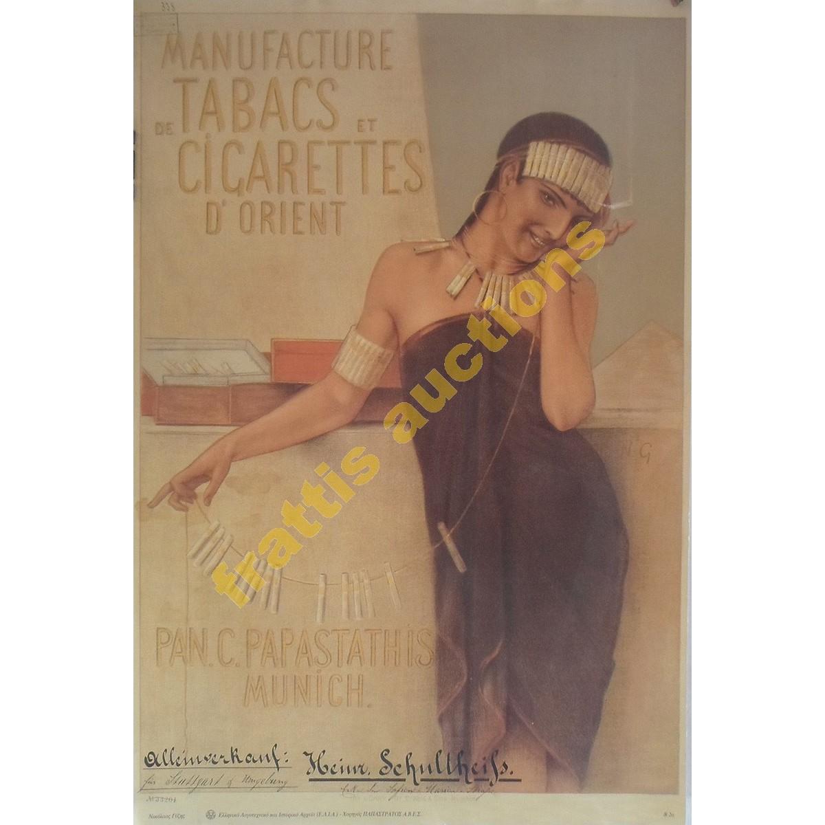 Pan.C.Papastathis, διαφημιστικό poster.