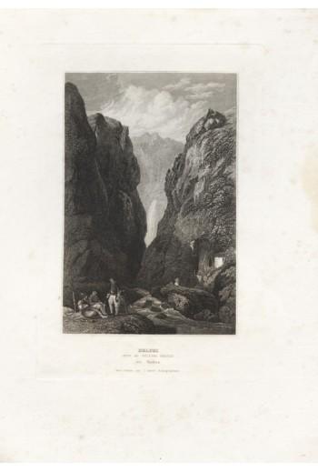 Delphi, λιθογραφία.