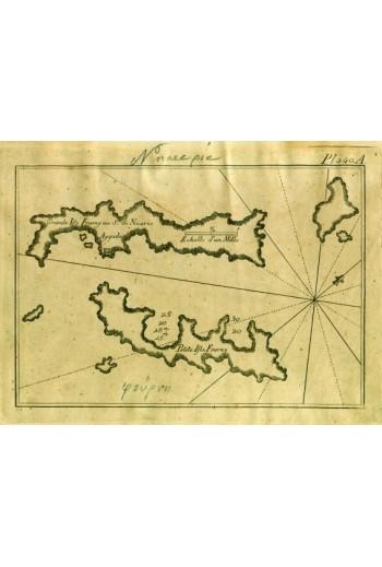 ROUX J., χαλκόγραφοι χάρτες.