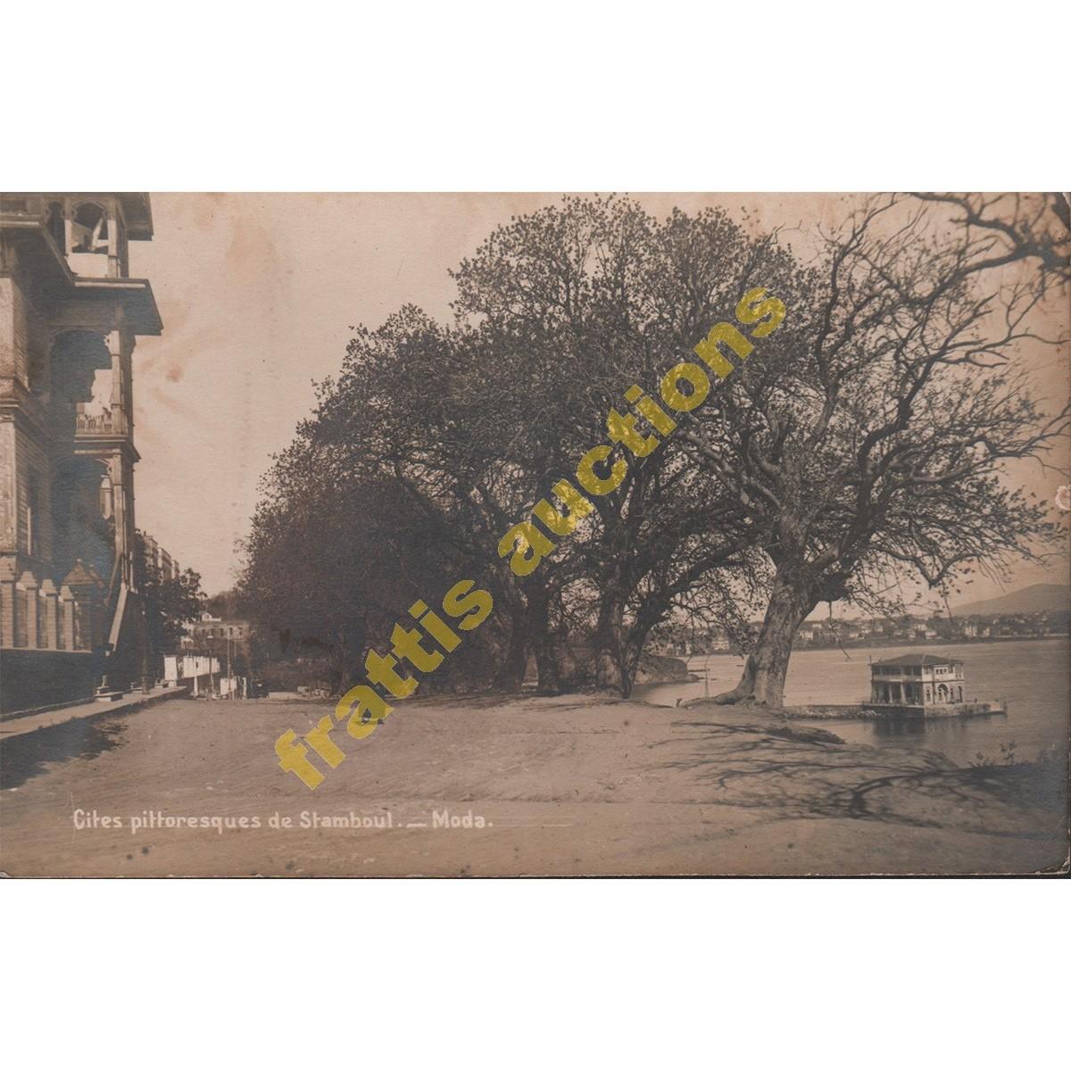 Άποψη γειτονιάς στην Κωνσταντινούπολη, Post card.