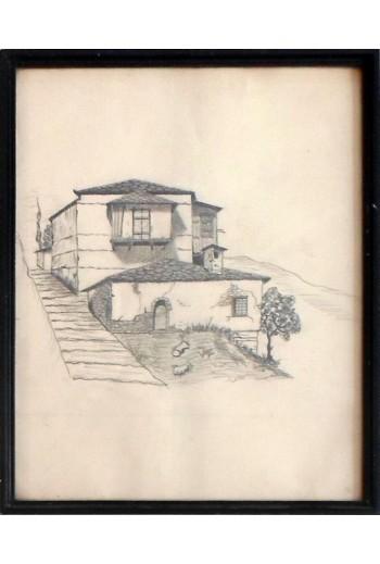 Σπίτια στην Κοζάνη, σχέδιο...