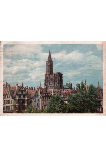 Strasbourg, La Cathedrale,...