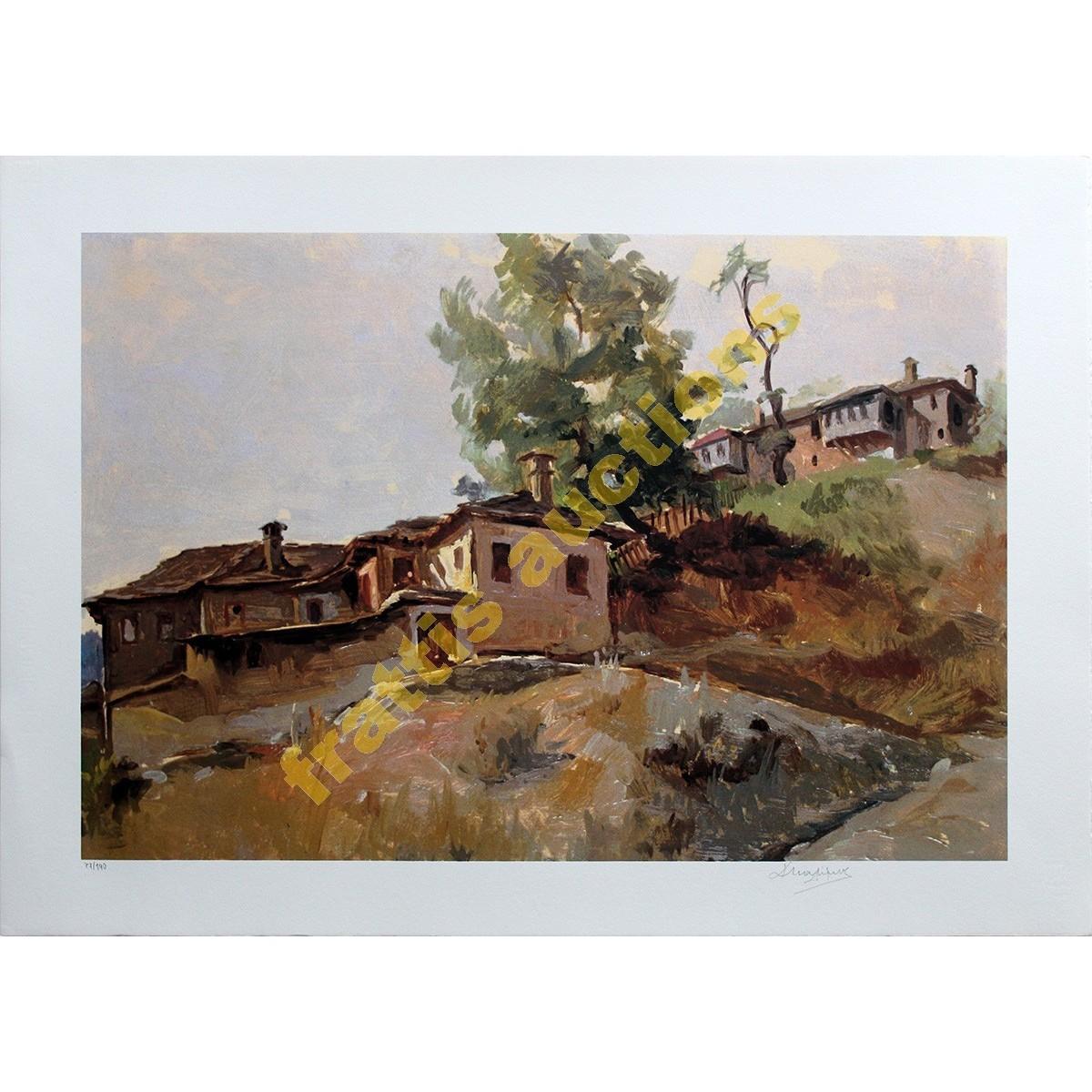 Μαλάμος Κωνσταντίνος, Σπίτια στο Μέτσοβο
