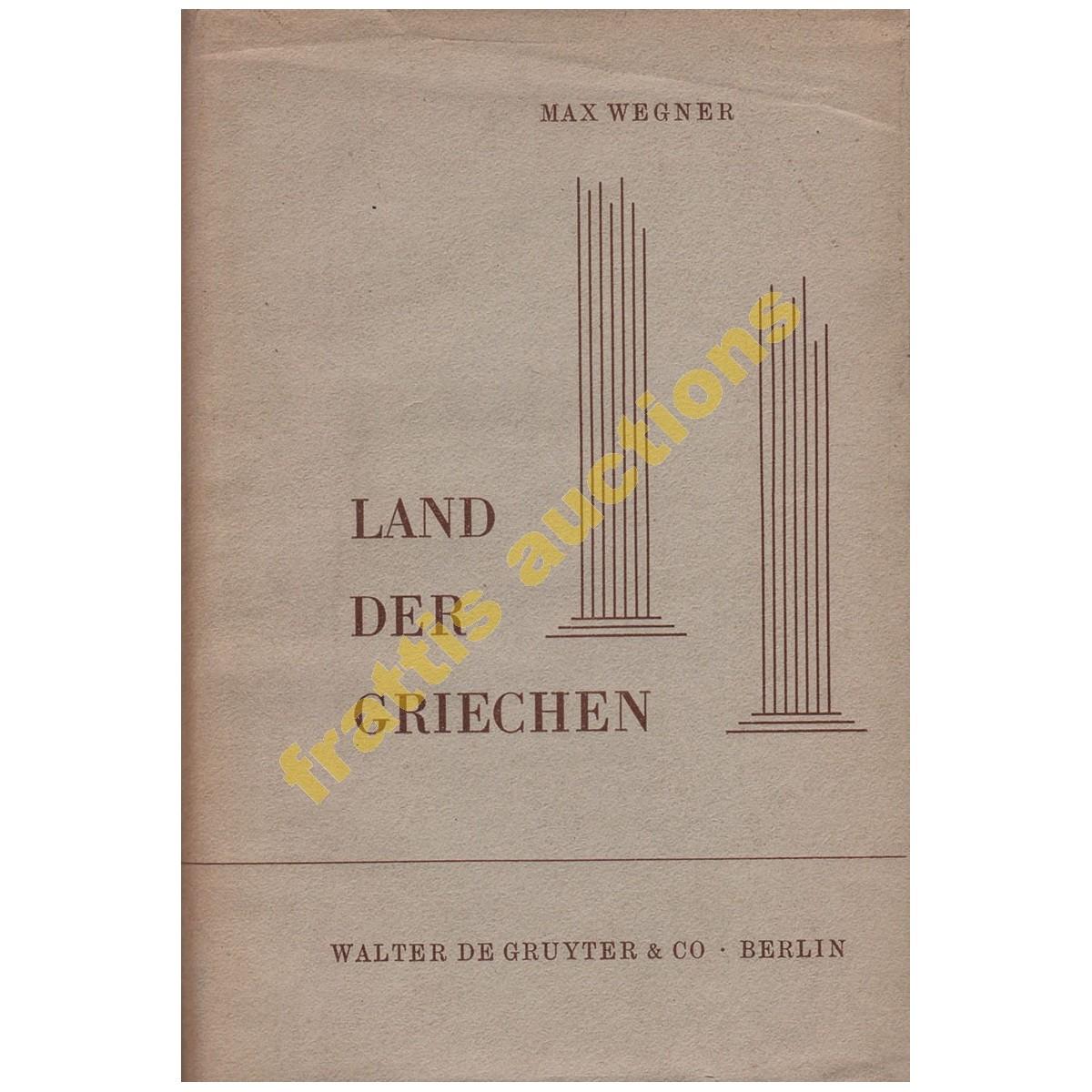 Land der Griechen, Max Wegner,1955.