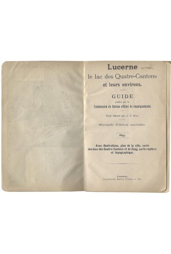 Lucerne, guide,1893.