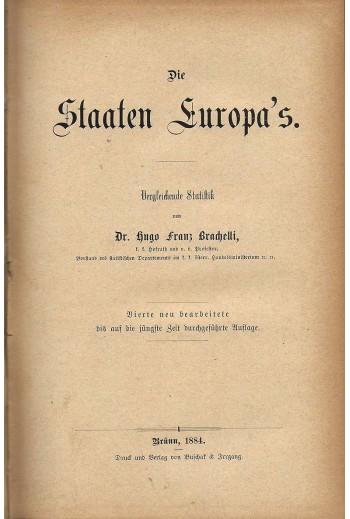 Die Staaten Europa's,...