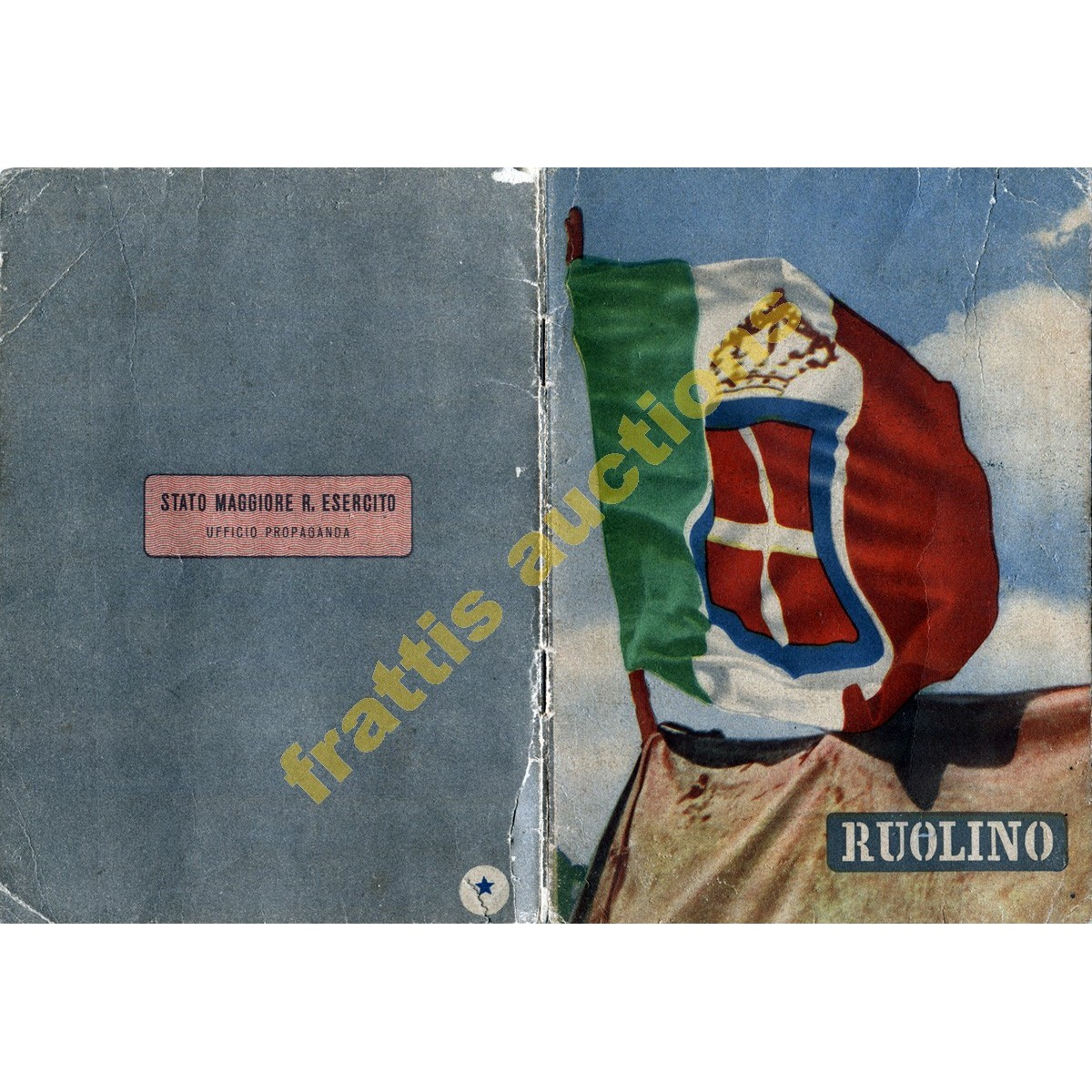 RUOLINO. Calendario 1942