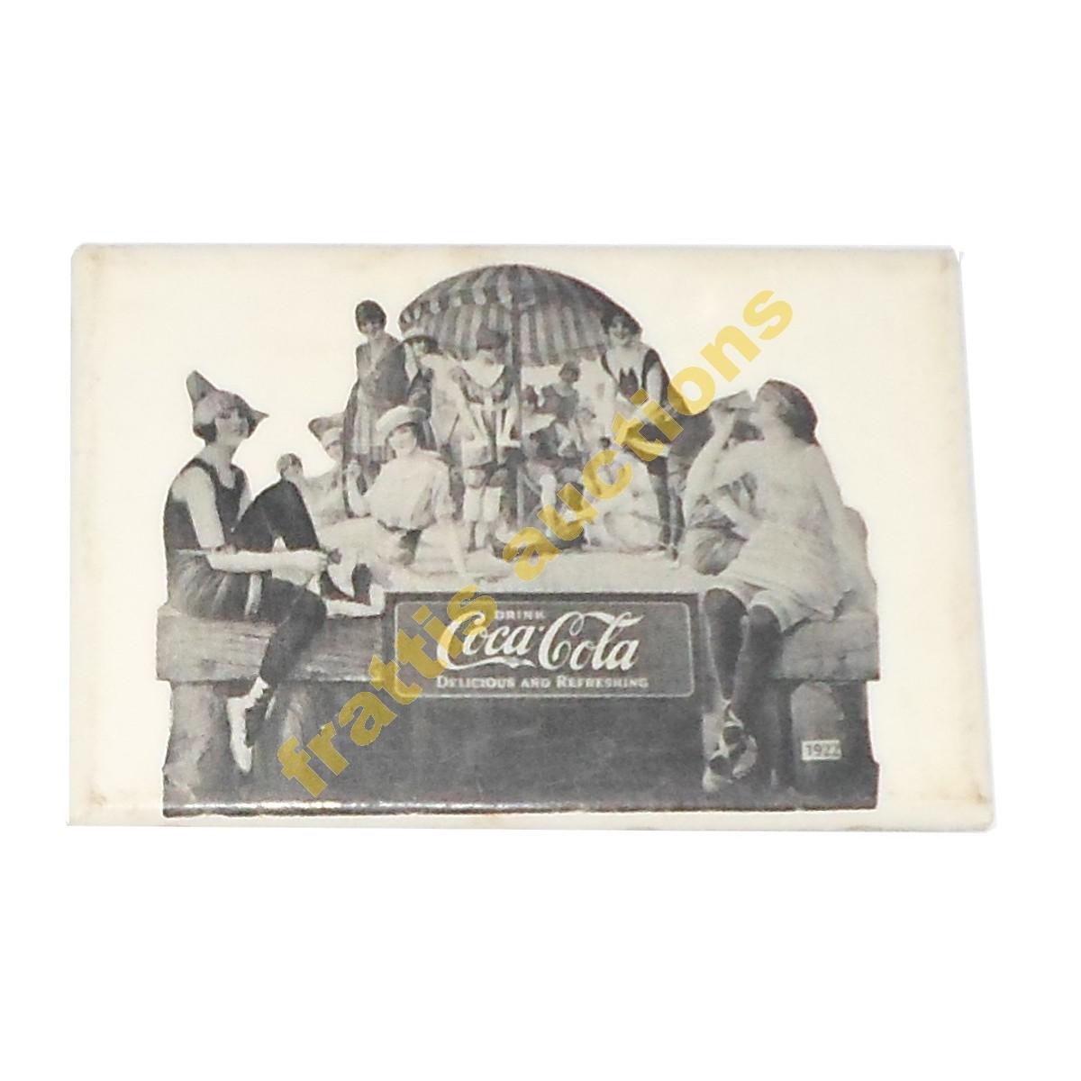 Διαφημιστικό καθρεφτάκι COCA COLA, 1922.
