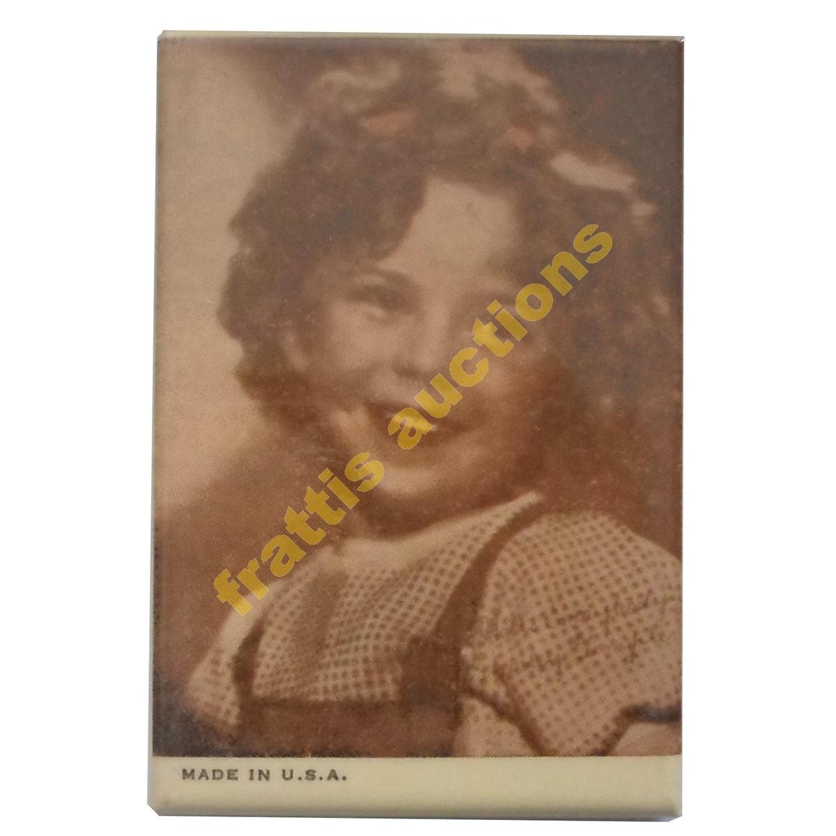 Shirley Temple, Διαφημιστικό καθρεφτάκι.