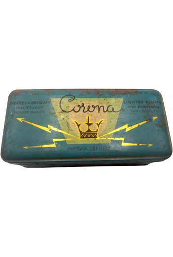 Corona, μεταλλικό κουτί.