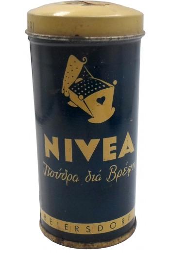ΝIVEA, μεταλλικό κουτί.
