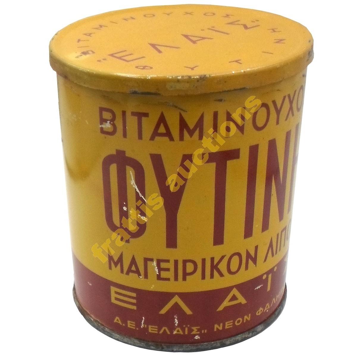 Βιταμινούχος Φυτίνη, ΕΛΑΪΣ, Μεταλλικό κουτί.