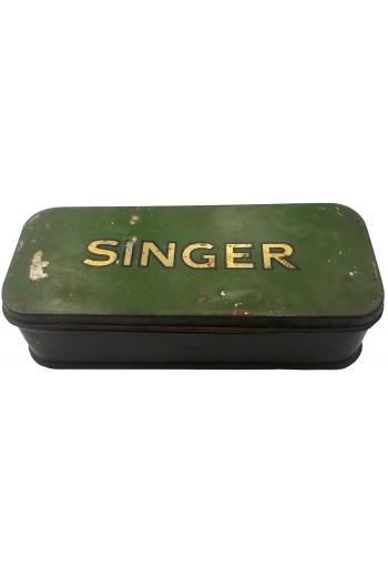 Singer, μεταλλικό κουτί.