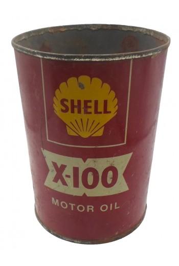 Shell, Μεταλλικό κουτί.