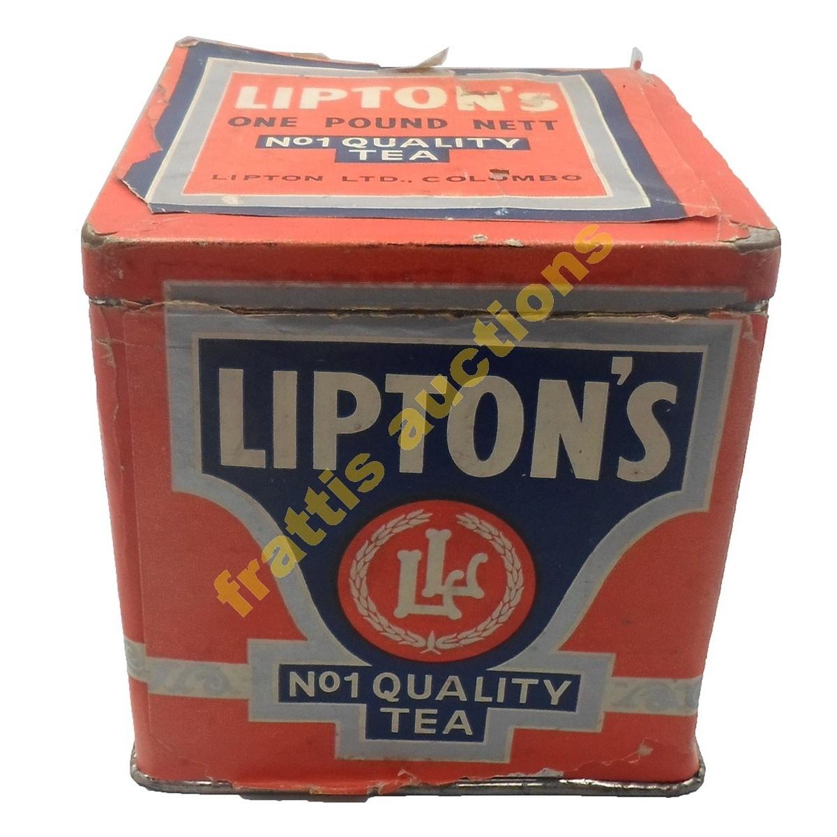 Lipton's, μεταλλικό κουτί.