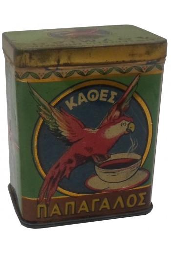 Παπαγάλος, Καφές, μεταλλικό...