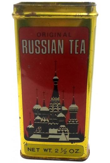 Russian Tea, μεταλλικό κουτί.