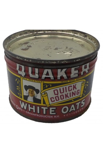 Quaker, μεταλλικό κουτί.