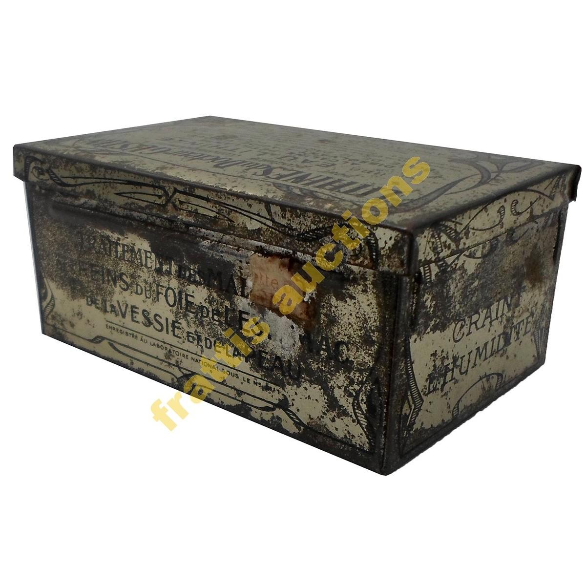 Lithines du Docteur Gustin, μεταλλικό κουτί.