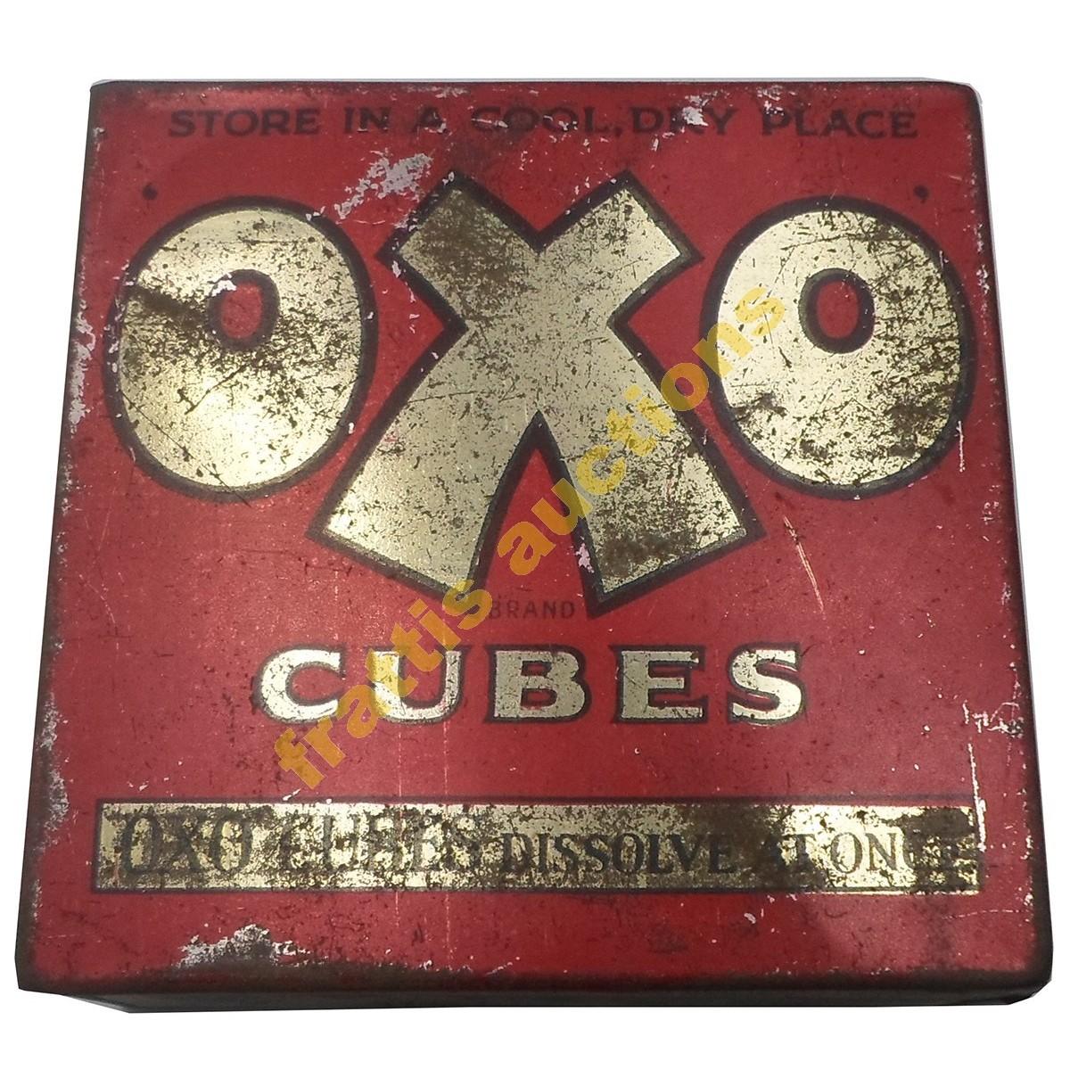 Οxo Cubes, μεταλλικό κουτί.