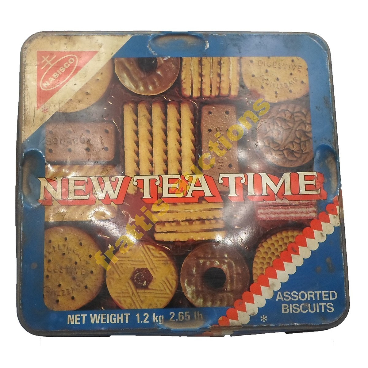Nabisco, New tea time, England, μεταλλικό κουτί.