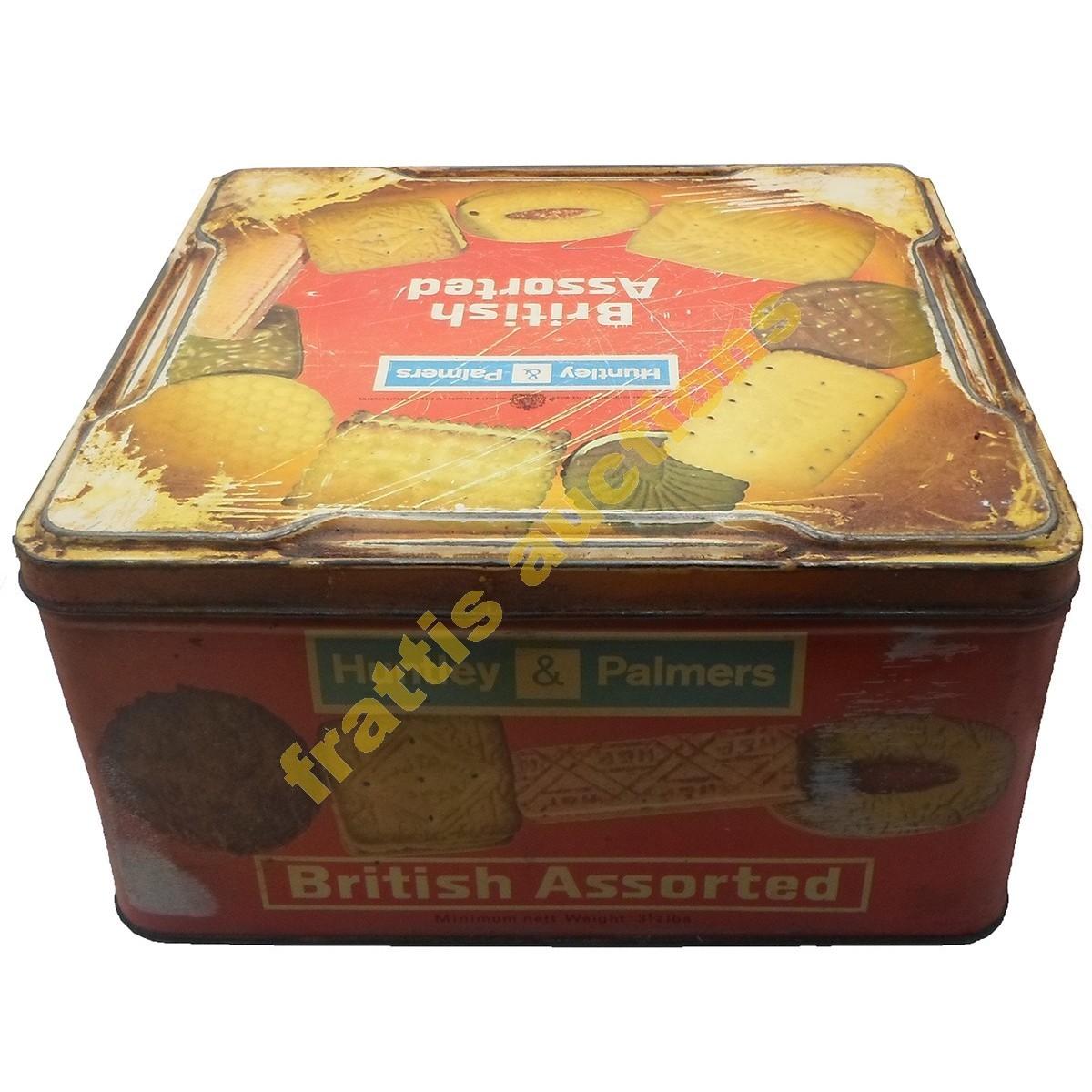 Huntley & Palmers, μεταλλικό κουτί.