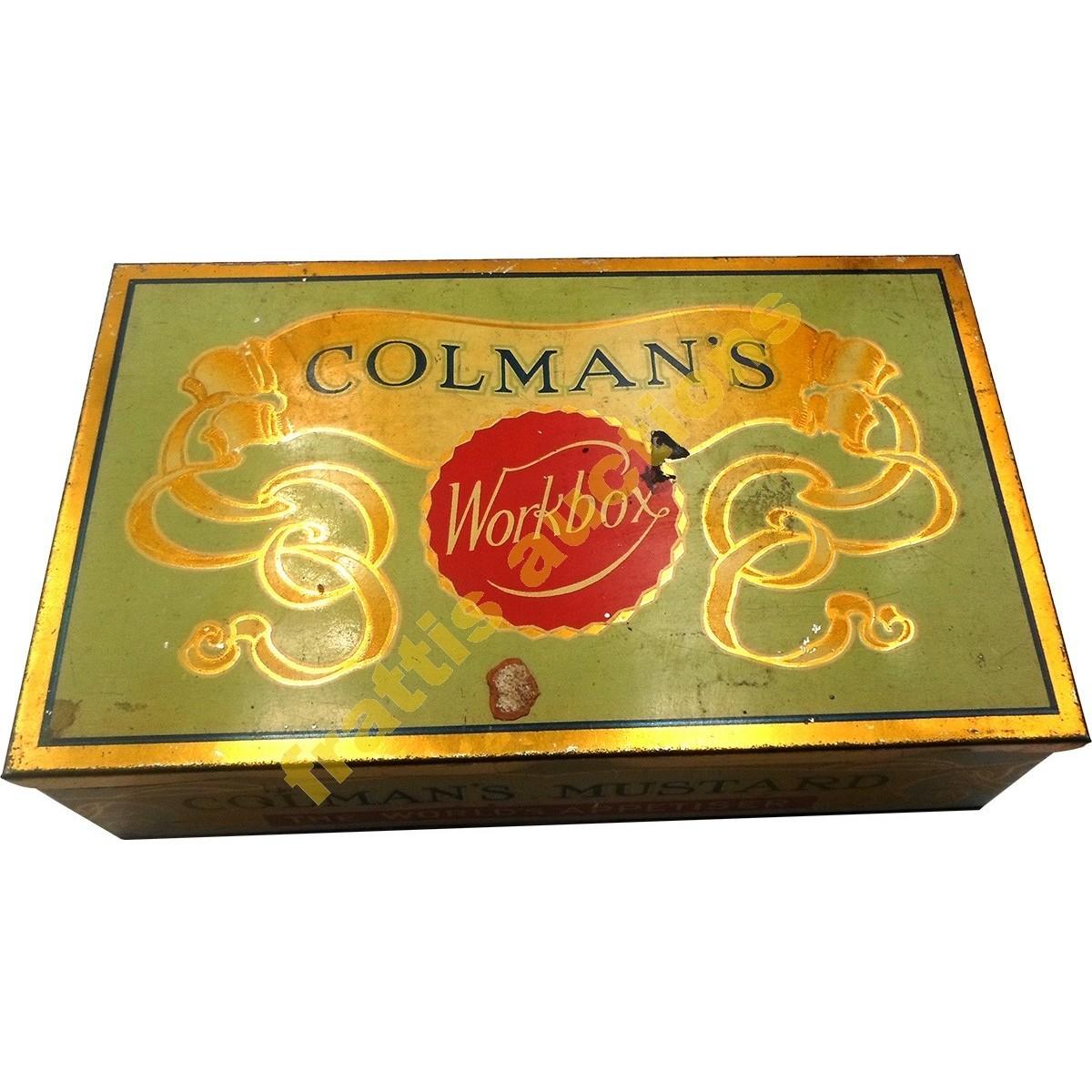Colman's Mustard, μεταλλικό κουτί.