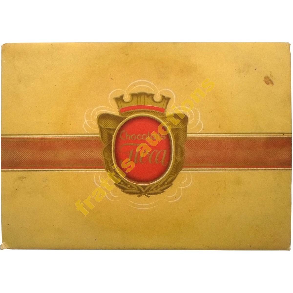 Σοκολάτα Φλόκα, χάρτινο κουτί.