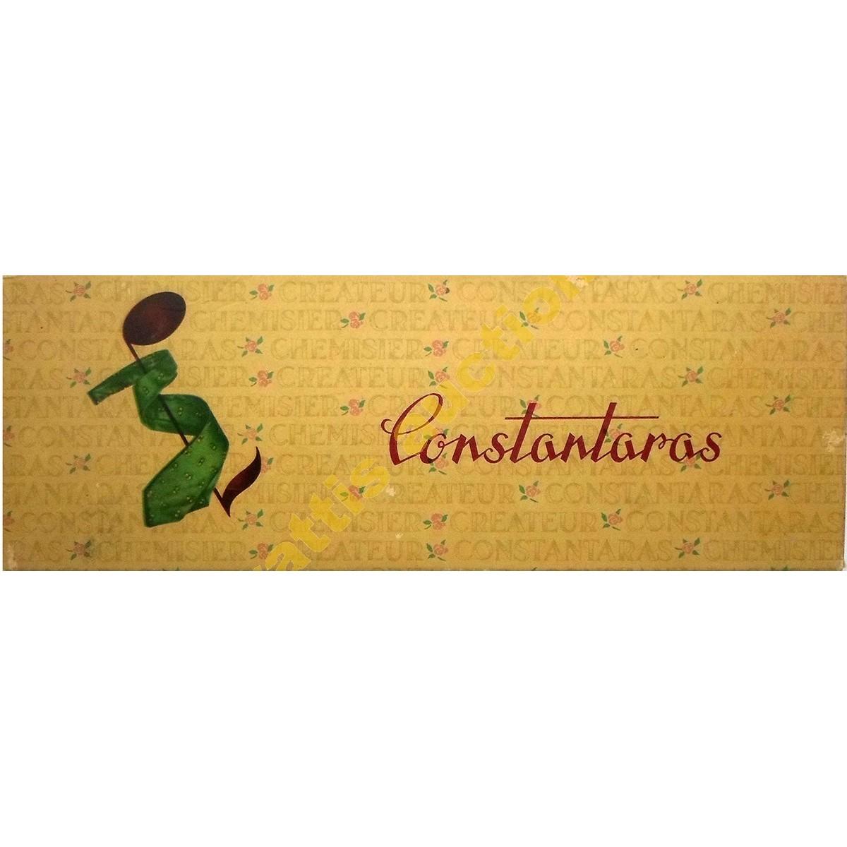 Constantaras, χάρτινο κουτί.